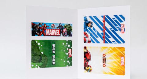 Interchangeable Marvel Faceplates