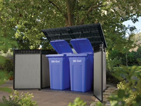 Great for Garbage Bin Storage