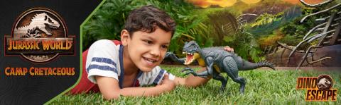 Slash 'N Battle Scorpios Rex: ¡Desatado el caos de dinosaurios híbridos!
