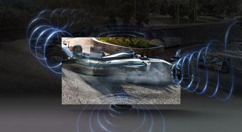 Sonido de seguimiento de objetos + (OTS +): sonido dinámico que rastrea y sigue la acción de la pantalla