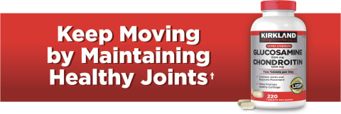 Keep Moving by Maintaining Healthy Joints†