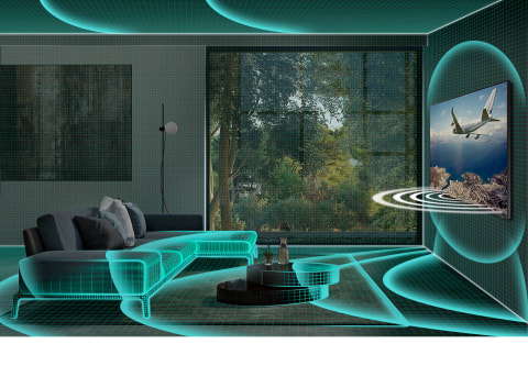 Sound optimized to your space - SpaceFit Sound