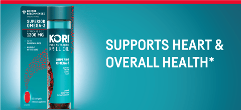 SUPPORTS HEART & OVERALL HEALTH