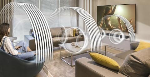 Sound that wraps around you - 3D Surround Sound