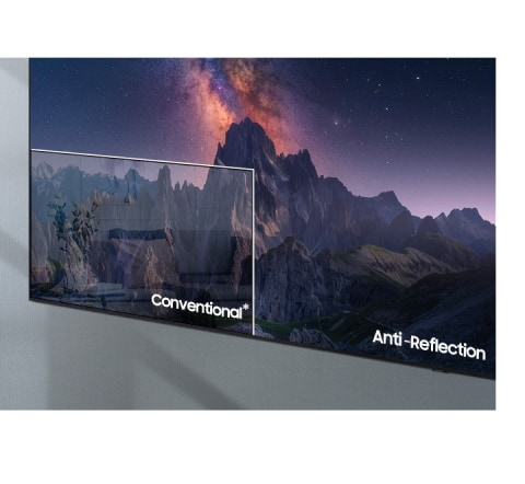 Minimal glare to reduce distractions - Anti-Reflection