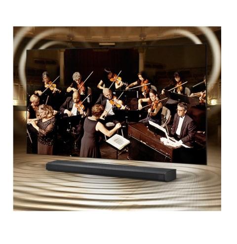 TV and soundbar in perfect harmony - Q-Symphony