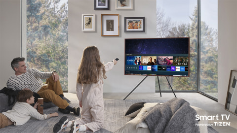 Home entertainment done smarter - Smart TV Powered by TIZEN