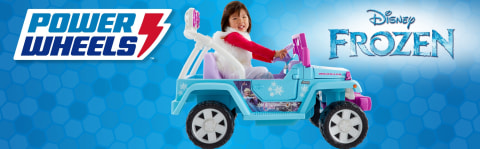Power Wheels® Disney Frozen Jeep® Wrangler