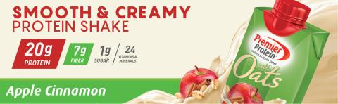 Smooth & Creamy Protein Shake Apple Cinnamon