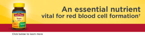 An essential nutrient vital for red blood cell formation. † Click below to learn more.