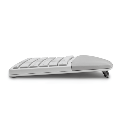Split and Sloped Keyboard with Adjustable Reverse Tilt