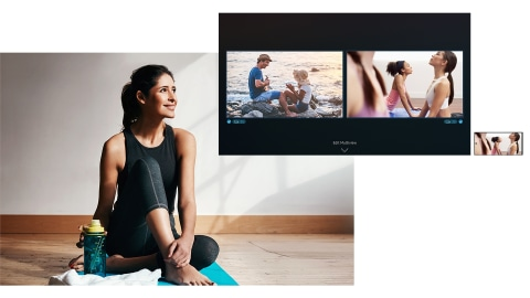 Second screen on your big screen - Multi View