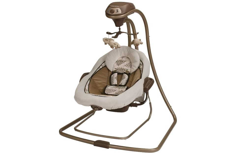 Manor Graco DuetConnect LX Baby Swing and Bouncer