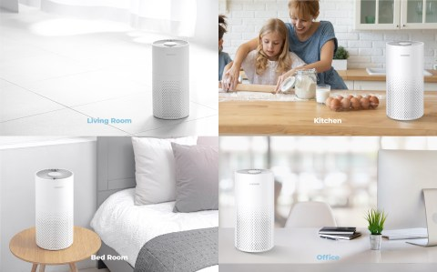 Clean the Air anywhere you want with compact size!