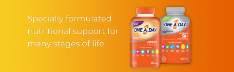Specially formulated nutritional support for every stage of life.