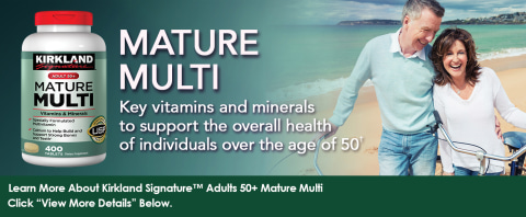 Key vitamins and minerals to support the overall health of individuals over the age of 50†