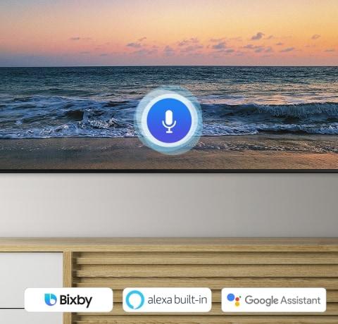 Múltiples asistentes de voz: Bixby, Alexa y Google Assistant integrados
