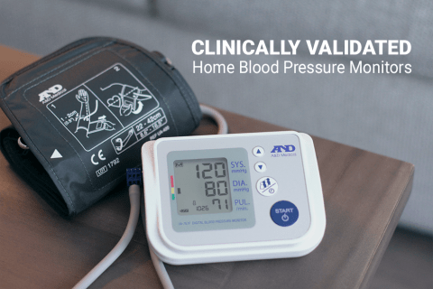 A&D Medical Clinically Validated Blood Pressure Monitor