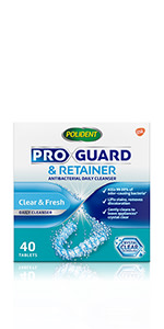 Polident ProGuard & Retainer Mouth Guard Cleaner and ...