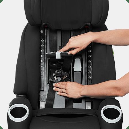 Integrated Harness Storage