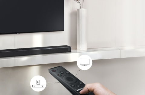 A world of sound with one remote - Samsung OneRemote