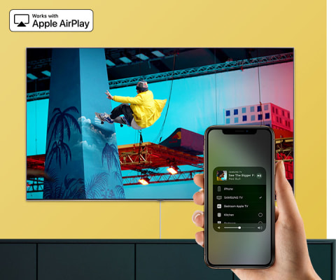 Works with AirPlay 2 - Apple AirPlay 2