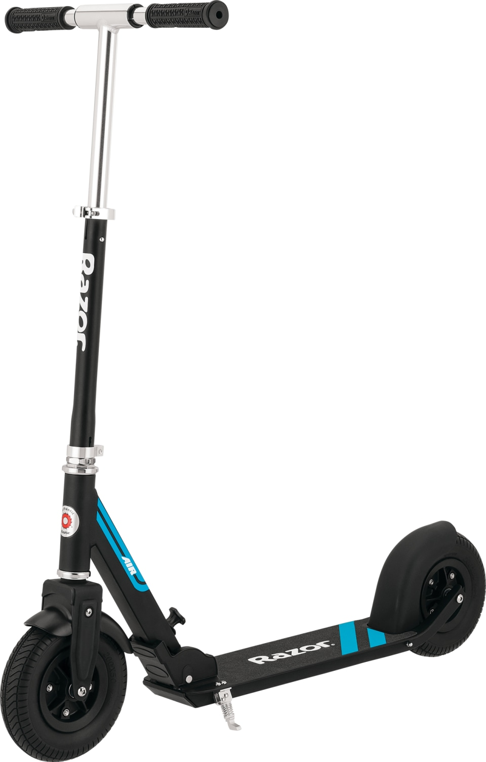 Large 8 Wheels Razor A5 Lux Kick Scooter Adjustable Handlebars Foldable for Riders up to 220 lbs Lightweight