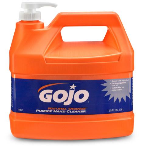GOJO® NATURAL* ORANGE™ Pumice Hand Cleaner (0955-04)