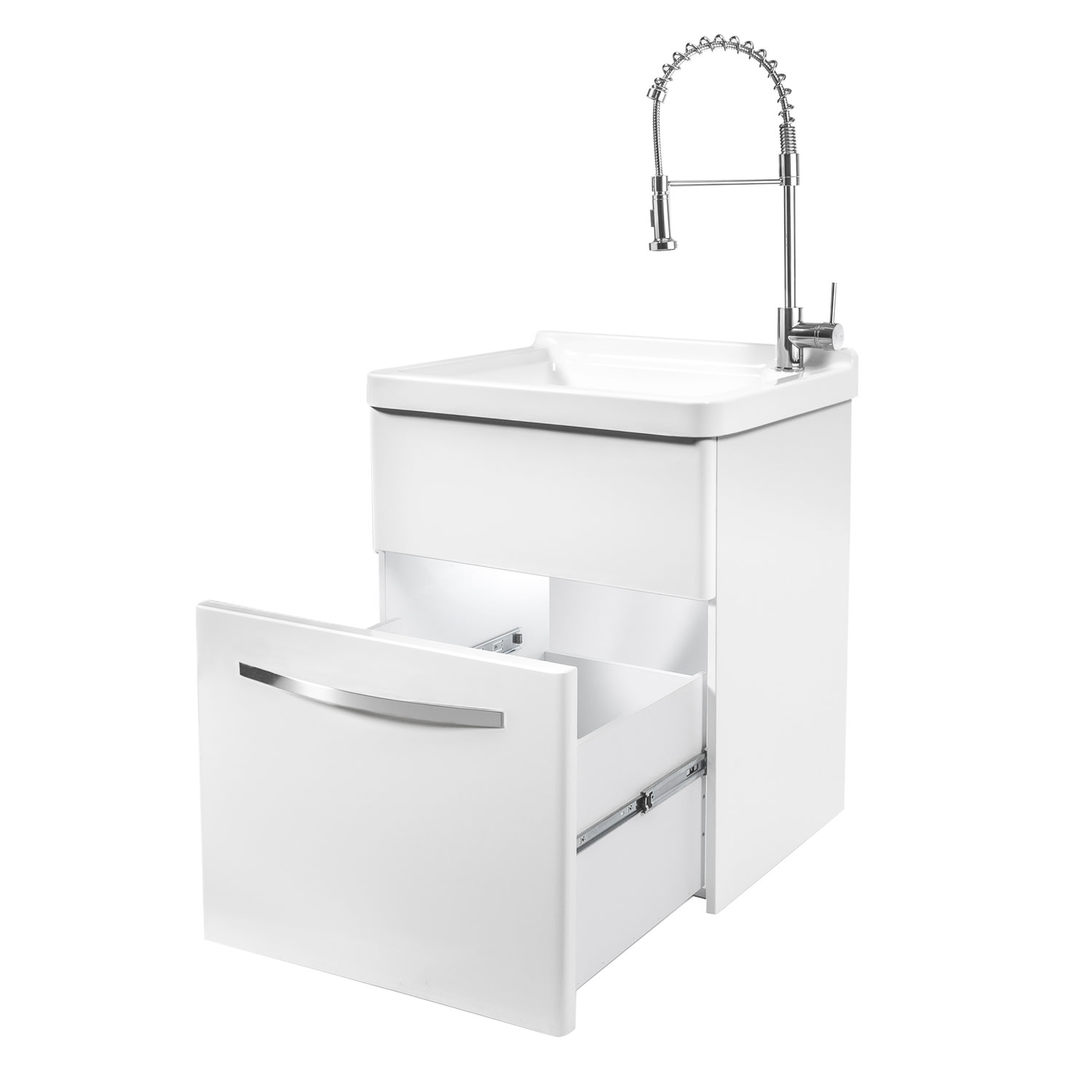 Transform Acrylic Utility Sink With, Westinghouse Laundry Sink With Cabinet Costco