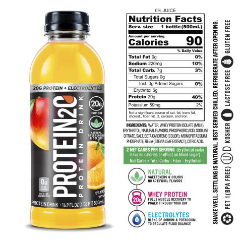 Protein2o Orange Mango (6 Bottles)