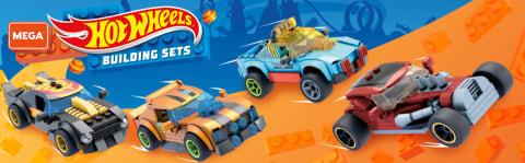 Hot Wheels aksiyonlarına katılın ve ünlü araçları en baştan oluşturun!
