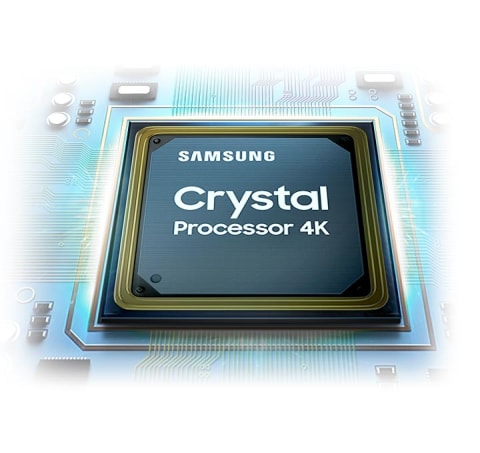 Powerful picture quality - Crystal Processor 4K