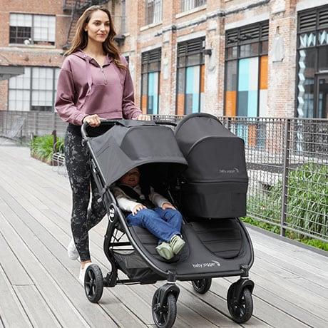 Baby Jogger City Mini Gt2 Double, Baby Jogger City Mini Gt2 Car Seat Adapter Installation