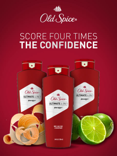 Old Spice Ultimate Swagger Body Wash 3-Pack