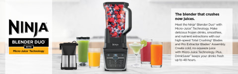 Ninja Blender DUO Micro-Juice Blender Black IV701