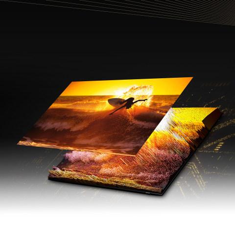 Quantum Matrix Technology Pro: contraste inimaginable de una gran variedad de Mini LED
