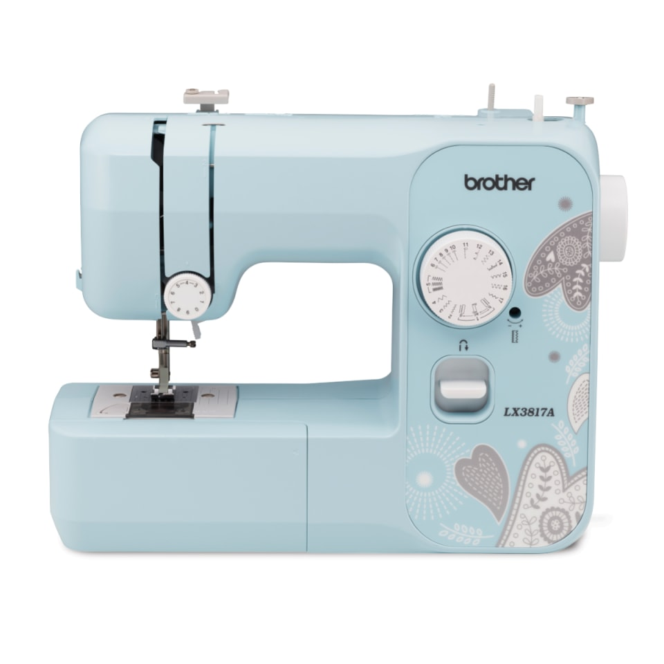 NEW Brother LX3817 Full Size 17 Stitches Sewing Machine Lightweight USA SELLER