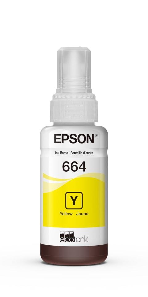 Tinta Original Epson T664 Amarilla