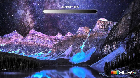 Rich, dynamic, and realistic pictures - Quantum HDR 12X*