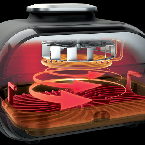 500°F Cyclonic Grilling Technology