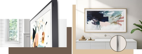 Gorgeous from all sides – No Gap Wall-Mount™ with One Invisible Connection™