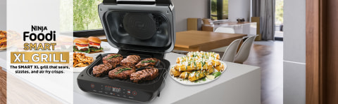 The grill that grills for you.