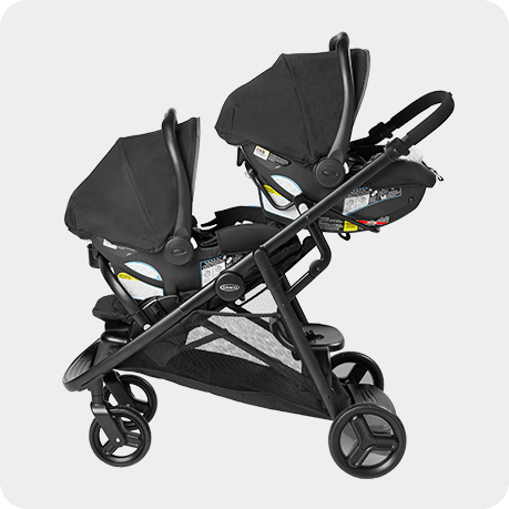 Graco Ready2grow 2 0 Double Stroller, Double Strollers With Car Seats