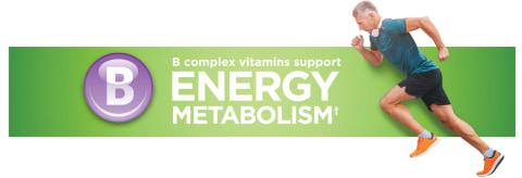 B Complex vitamin support energy metabolism