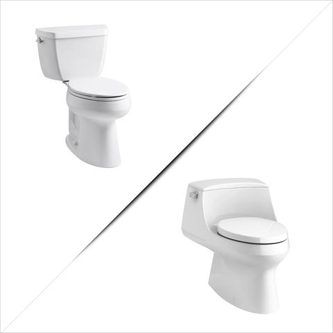 2 Different Toilet Types