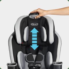 10-Position Headrest