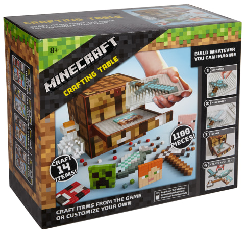 Mattel Minecraft Crafting Table Walmart Com Walmart Com