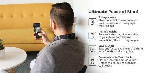 security camera, app, 24/7, remote viewing