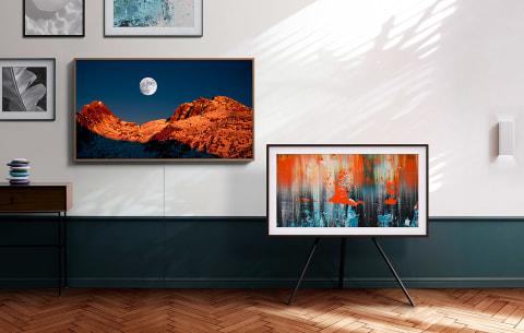 TV when it's on. Art when it's off.