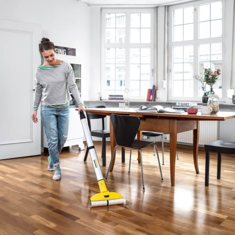 Electric Floor Mopping